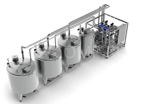 Изготовление и монтаж сип-мойки на молочный завод подключение водяного насоса к электричеству